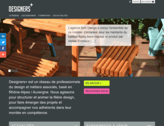 collectif-designersplus.fr screenshot