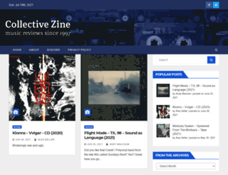 collective-zine.co.uk screenshot