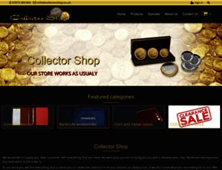 collectorshop.co.uk screenshot