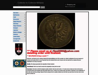 collectortocollectormilitaria.com screenshot