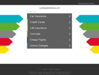 colledellolmo.it screenshot