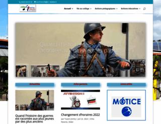 college-quartierfrancais.ac-reunion.fr screenshot