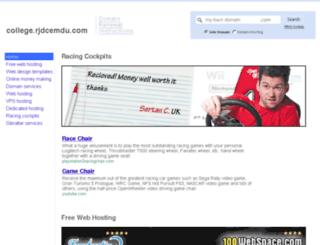 college.rjdcemdu.com screenshot