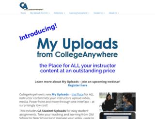 collegeanywhere.org screenshot
