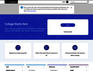 collegeboard.com screenshot