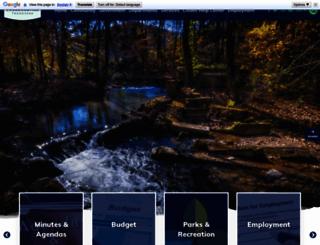 collegedaletn.gov screenshot
