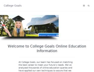 collegegoalsundaynm.org screenshot