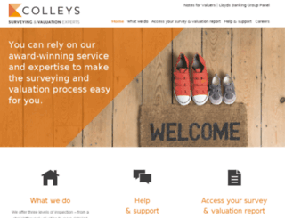 colleys.co.uk screenshot