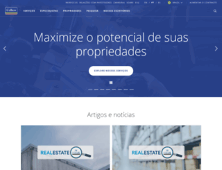 colliers.com.br screenshot