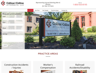 collinscollins.com screenshot