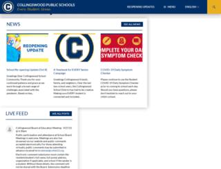 collsk12.org screenshot