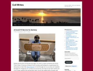 collwrites.com screenshot