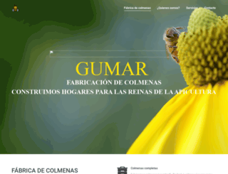 colmenasgumar.com screenshot