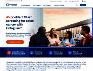 cologuardtest.com screenshot