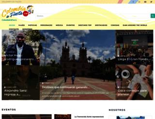 colombiadefiesta.com screenshot