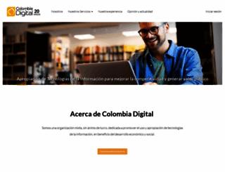 colombiadigital.net screenshot
