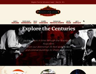 colonialquarter.com screenshot