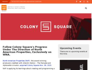 colonysquare.whatnowatlanta.com screenshot