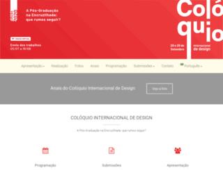 coloquiodesign.com.br screenshot