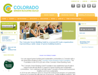 coloradogreenbuildingguild.site-ym.com screenshot