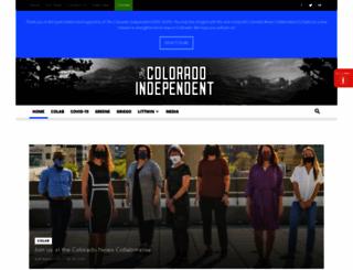 coloradoindependent.com screenshot
