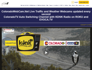 coloradowebcam.net screenshot