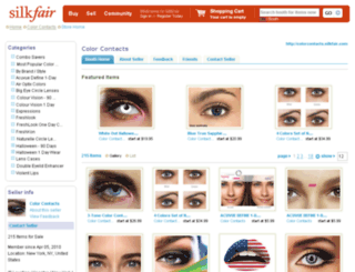 colorcontacts.silkfair.com screenshot