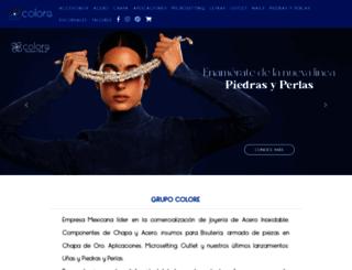 coloreaccesorios.com screenshot
