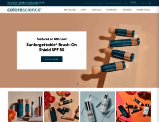colorescience.com screenshot