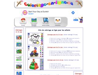 coloriage-en-ligne.eu screenshot