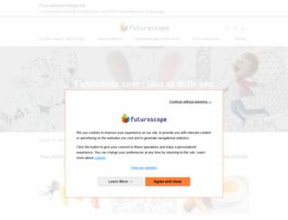 coloriages-jeux-futuroscope.com screenshot