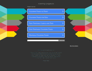coloring-pages.co screenshot