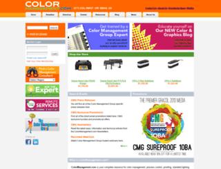 colormanagement.com screenshot