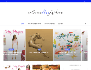 colormebluefashion.com screenshot
