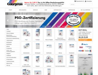 colorpress.de screenshot