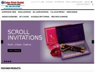 colorprintoutlet.com screenshot