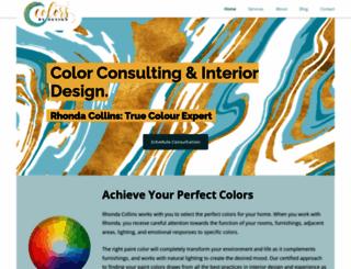 colorsbydesign.com screenshot
