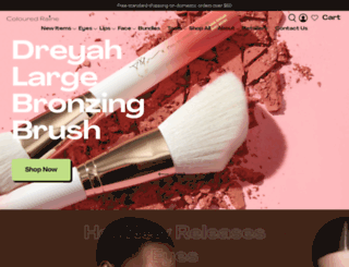 colouredraine.com screenshot
