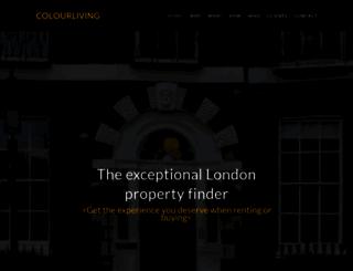 colourliving.co.uk screenshot