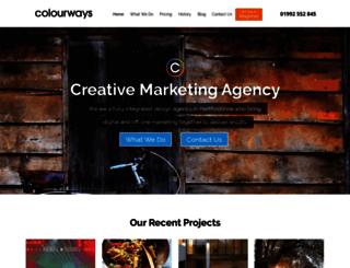 colourways.co.uk screenshot