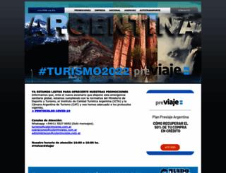 colprimviajes.com.ar screenshot