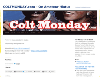 coltmonday.com screenshot