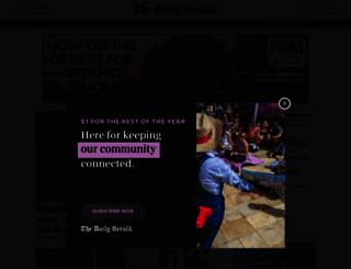 columbiadailyherald.com screenshot