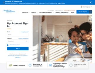columbiagaspa.com screenshot