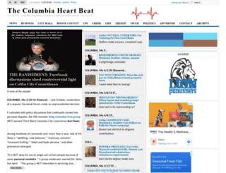 columbiaheartbeat.com screenshot