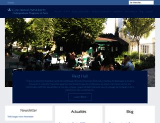 columbiaprograms.fr screenshot
