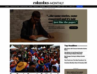 columbusmonthly.com screenshot