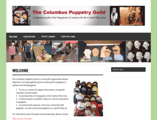 columbuspuppetryguild.org screenshot