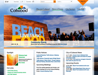 colwood.ca screenshot