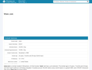 com.ipaddress.com screenshot